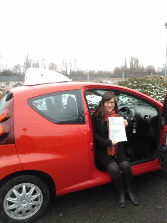 Driving Lessons North London. Umut passed het automatic driving test first time